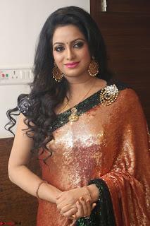 Udaya Bhanu lookssizzling in a Saree Choli at Gautam Nanda music launchi ~ Exclusive Celebrities Galleries 058.JPG