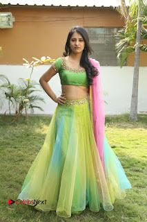 Actress Nikitha Bisht Stills in Lehenga Choli at Pochampally Ikat Art Mela Launch  0229.JPG
