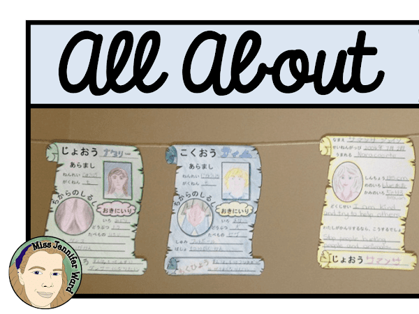 All About Me Displays (Japanese Version)