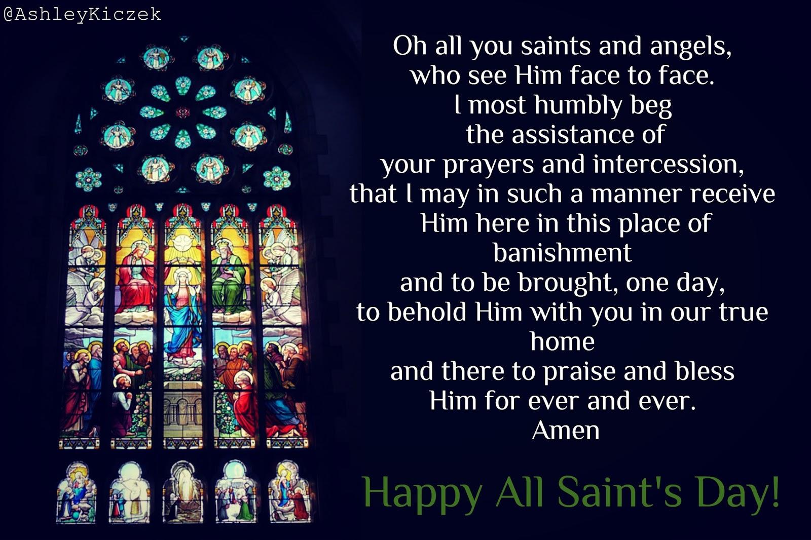 All Saints Day Prayer
