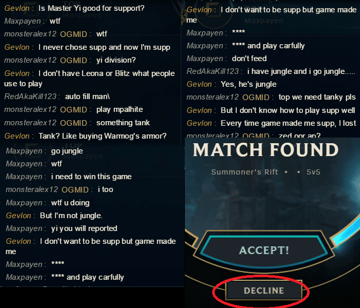 Riot matchmaking rigged
