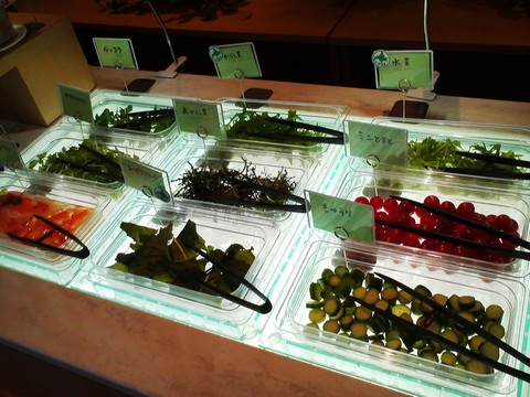 ビュッフェコーナー:サラダ オーセントホテル小樽カサブランカ