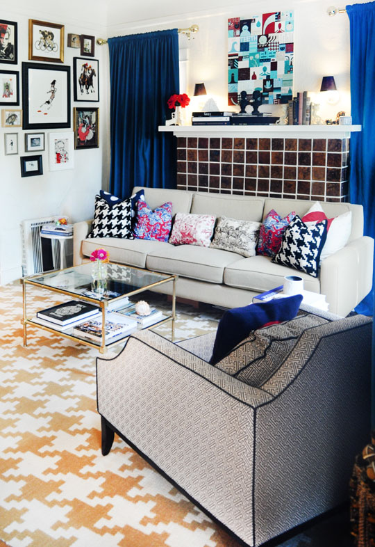 My House My Canvas I'm Obsessed With Houndstooth!!!