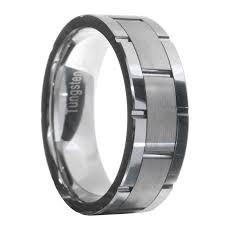 Mens Wedding Ring Tungsten