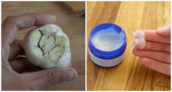 put Vicks On A Garlic Clove Amazing