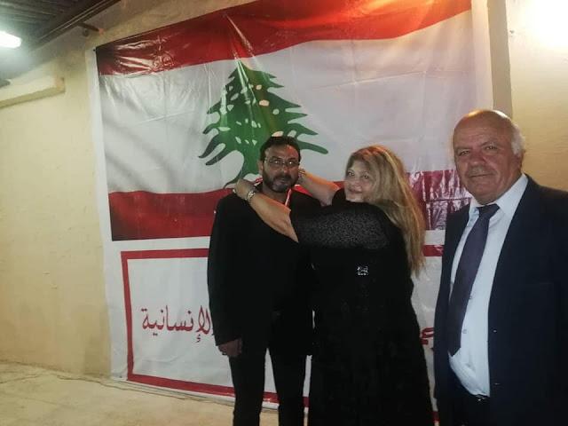 """""""عصام منانا """"يكرم في مهرجان الفرح الرابع في بيروت"""