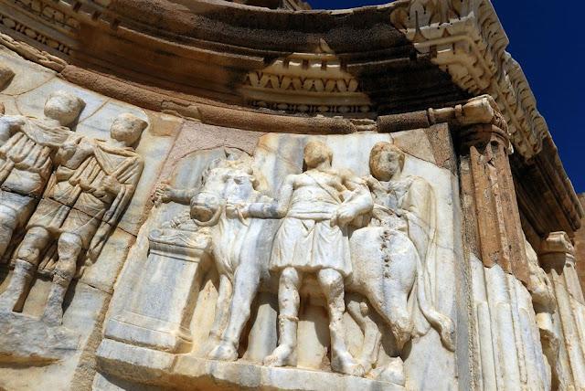 'Jewel of Roman Empire' faces Libya dangers