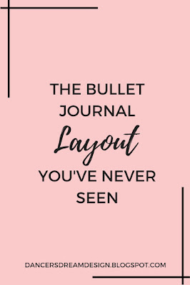 The Bullet Journal Layout You've Never Seen