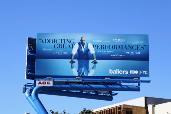 Ballers season 4 FYC billboard