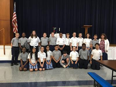 Montgomery Catholic Students Honor Veterans 2