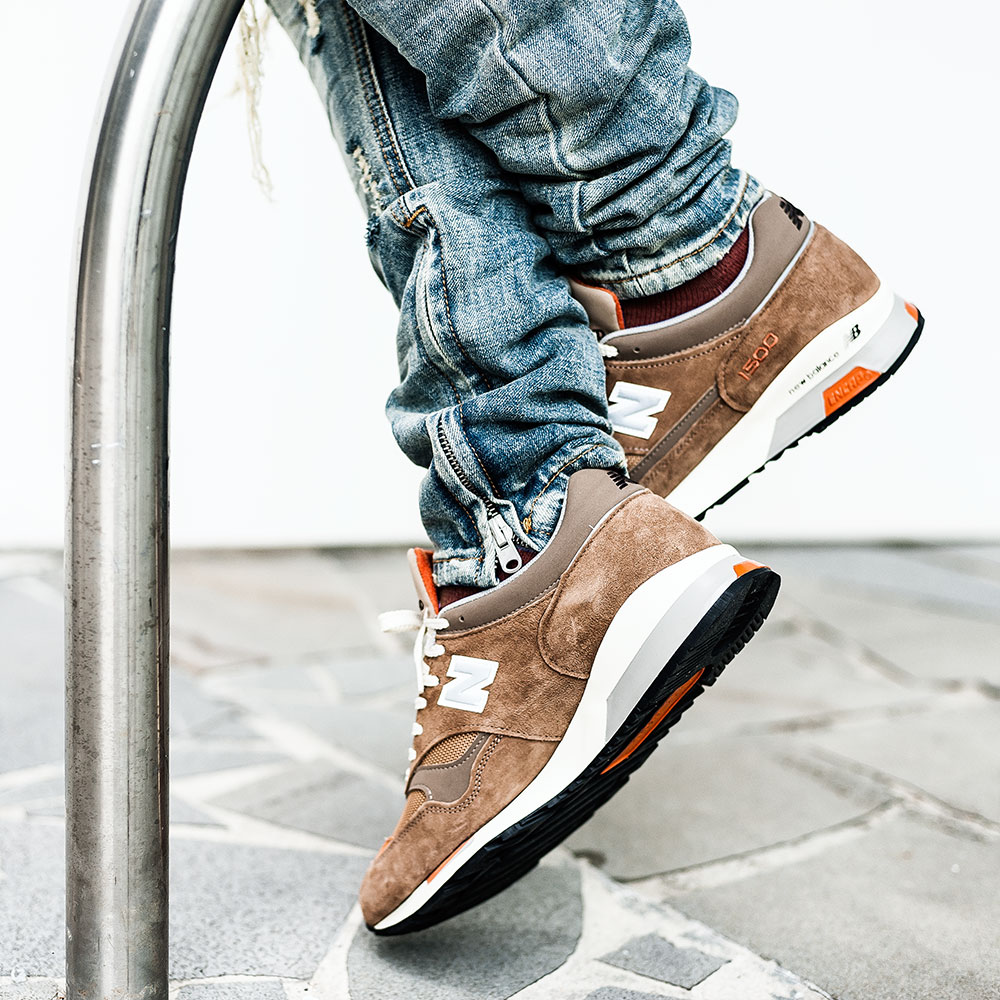 Norse Projects X New Balance M1500NO2 'Danish Weather' Brown Sneakers / MNML M1 Vintage Denim by Tom Cunningham
