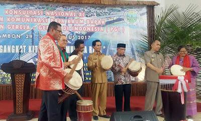 Gubernur Maluku Paparkan Konsep Kampung Multikultur