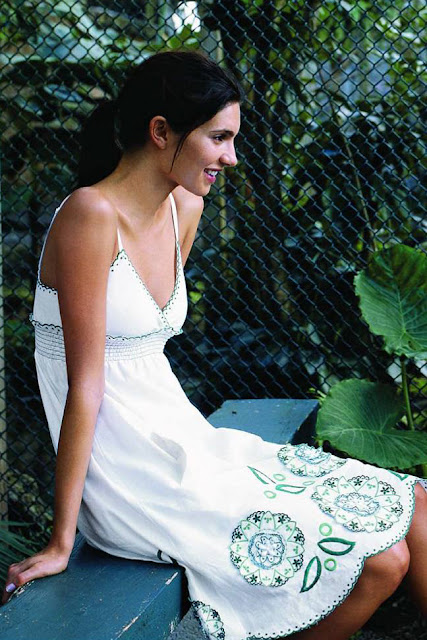 Anthropologie Grass Medallion Dress by Mint