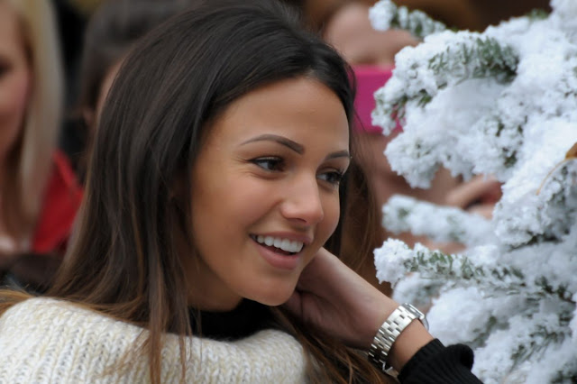 HD Photos of Michelle Keegan At Shopping Centre In Solihull