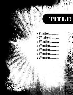 Template Word untuk Cover Laporan