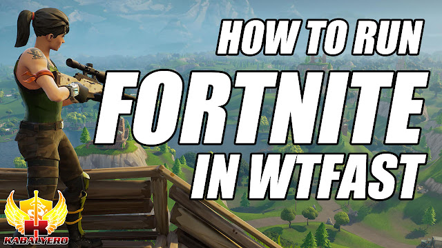 HOW TO RUN FORTNITE IN WTFAST?