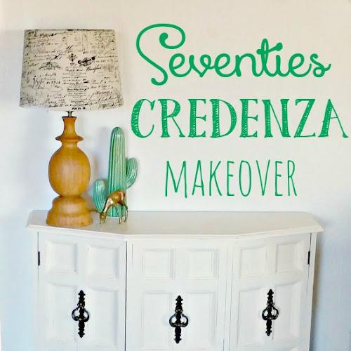 Seventies Credenza Makeover