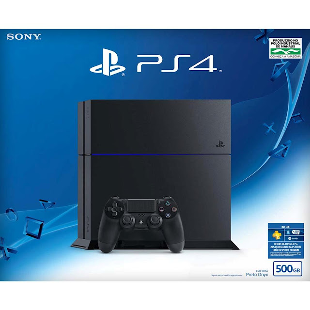 Console Playstation 4 com 500GB