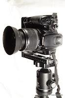 Canon EOS400D w/ Benro MPB150T L bracket - portrait