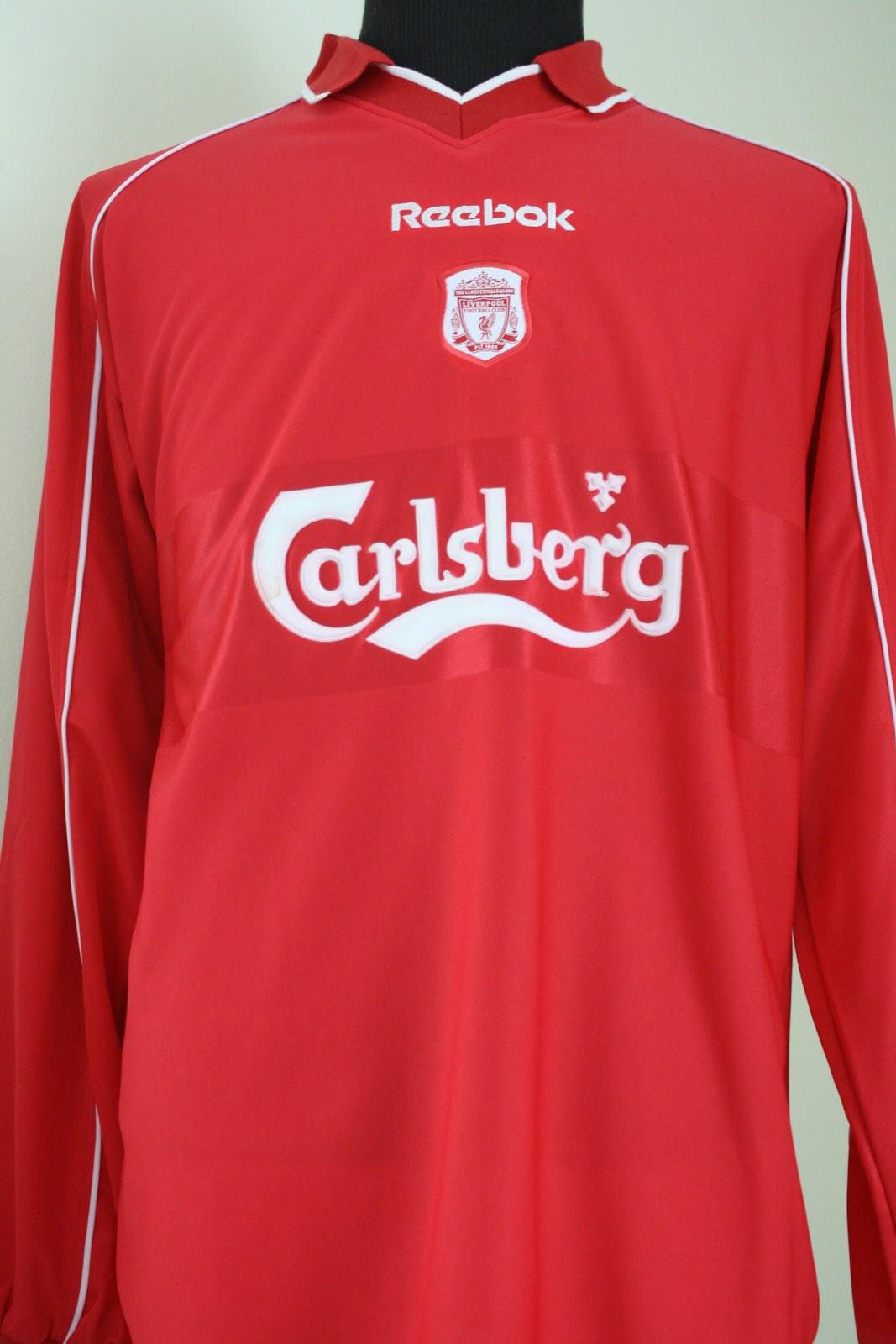 aab95b3d6cb Liverpool FC Home kit 2000-2002
