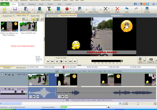 Aplikasi Editor Video untuk Pemula Size Kecil (Video Pad)