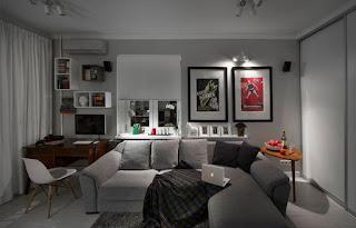 Sala moderna funcional