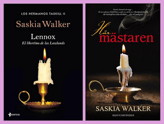 portadas del libro romántico histórico paranormal Lennox, el libertino de las highlands, de Saskia Walker