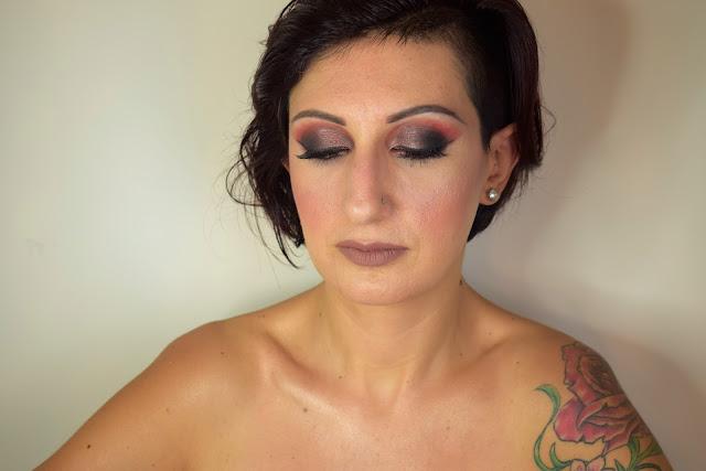 rock makeup