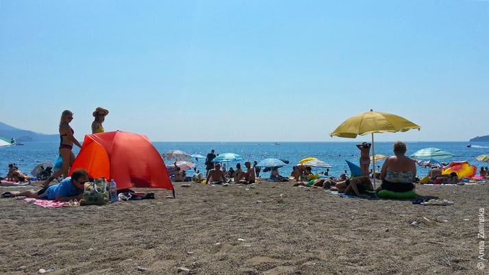 Пляж Бечичи, Черногория