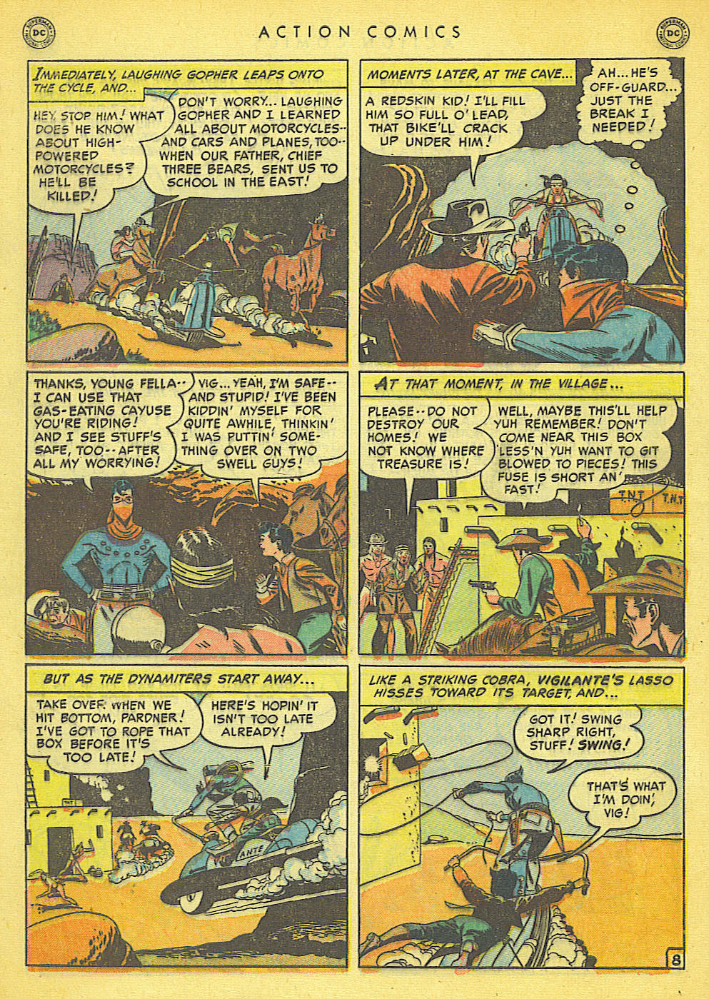 Read online Action Comics (1938) comic -  Issue #152 - 46