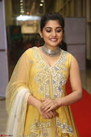 Nivetha Thamos in bright yellow dress at Ninnu Kori pre release function ~  Exclusive (54).JPG