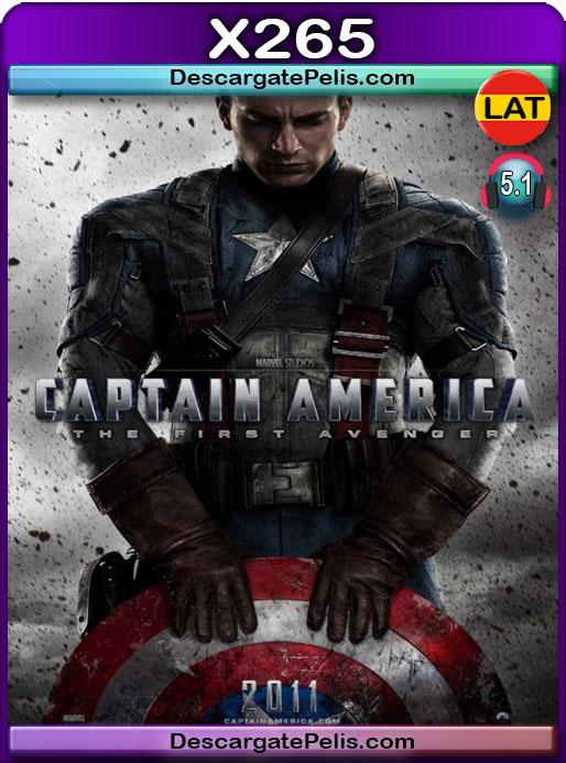 Capitán América El primer vengador (2011) 1080P x265 Latino – Ingles