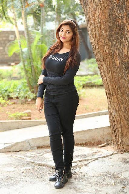 Ashwini Stills At Ameerpet Lo Movie Interview