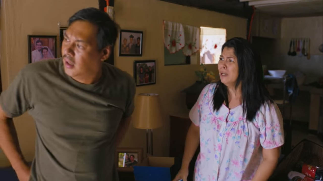 1st Sem Filipino movie CineFilipino Film Festival 2016 entry dealing withseparation anxiety featuring Lotlot De Leon and Allan Paule