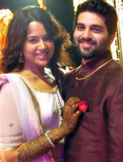 Sameera Reddy Family Husband Parents children's Marriage Photos