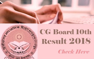 CGBSE 10th 2018 Result, CG Board 10th 2018 Result, CGBSE Class 10th Result 2018, CGBSE 10th Results 2018