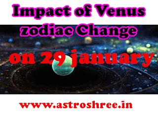 venus predictions on 29 january 2019
