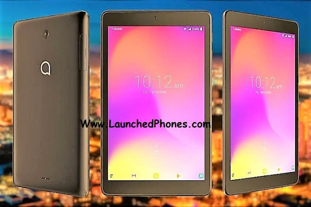 This Tablet is launched entirely on online shopping site Alcatel 3T Tablet launched amongst 4080 mAh battery
