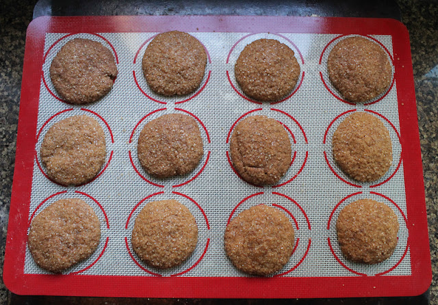 Food Lust People Love: Tender pumpkin insides and crunchy sugar outsides make these cinnamon pumpkin cookies perfect for your holiday table. Mix up a batch of these fabulous cookies for your next gathering.
