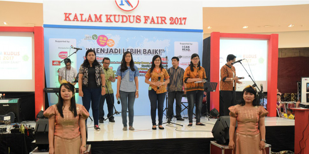 Meriahnya Kegiatan Kalam Kudus Fair 2017 di The Park Mall