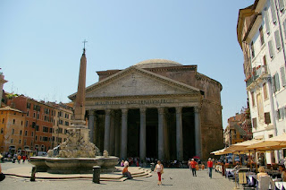The Pantheon has been standing in the Piazza della Rotonda  since AD118 and is one of Rome's finest ancient buildings