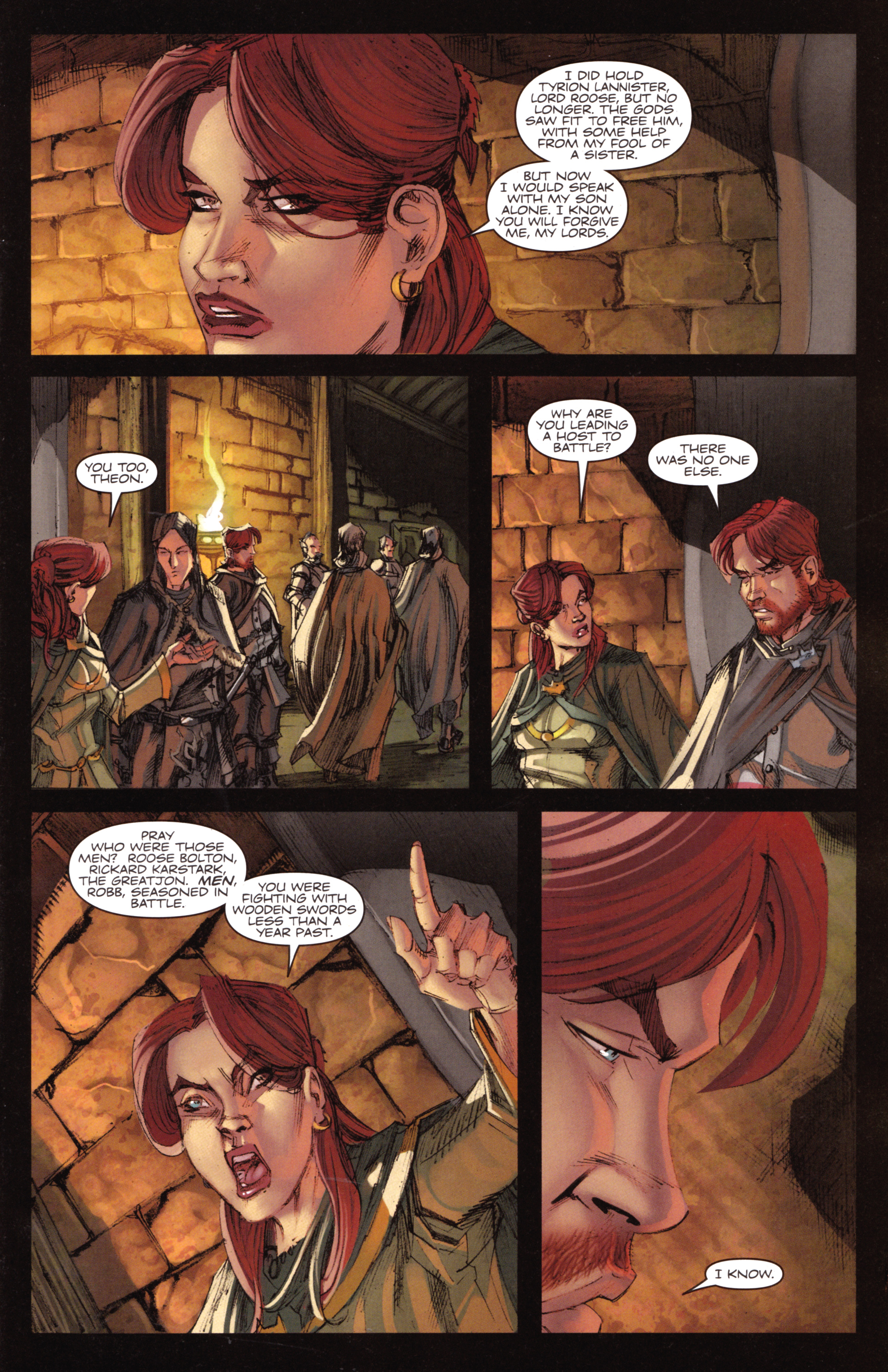 Read online A Game Of Thrones comic -  Issue #18 - 7