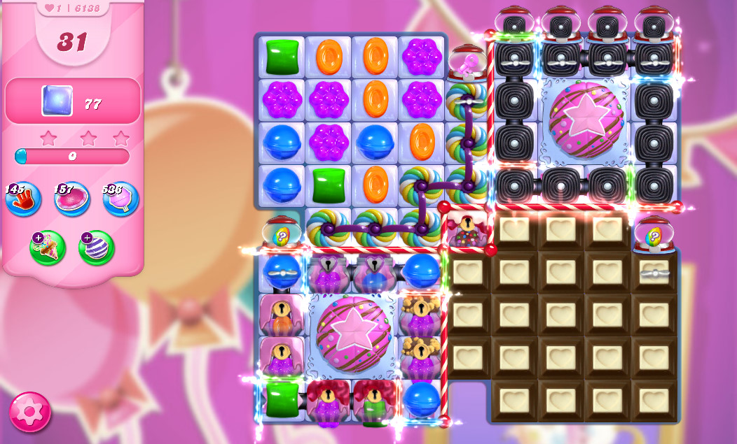 Candy Crush Saga level 6138