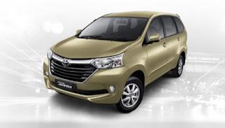 Harga Toyota Avanza di Pontianak Warna Beige Metallic