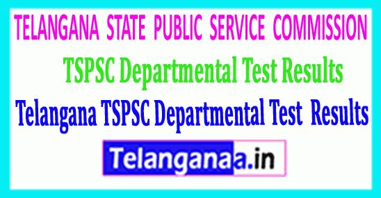 Telangana TSPSC Departmental Test 2019 Results