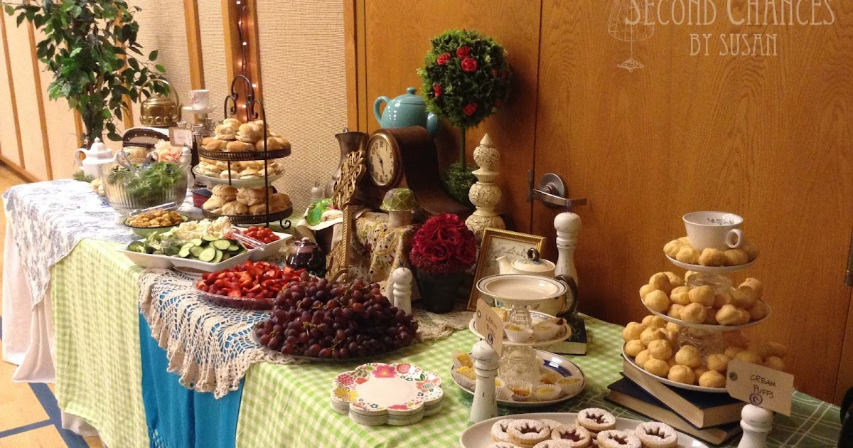 Second Chances by Susan: A Mad Hatter Tea Party