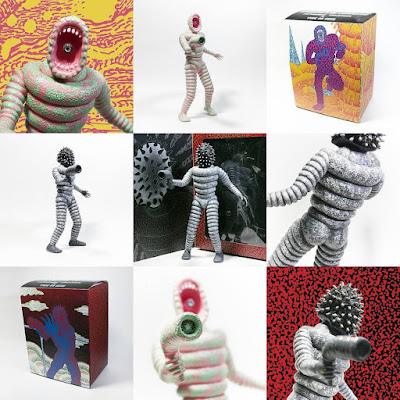 Mr Rotten Donuts Vinyl Figure by Tetsunori Tawaraya x John Dwyer (Thee Oh Sees) x Unbox Industries – Regular Edition & Unmasked Variant