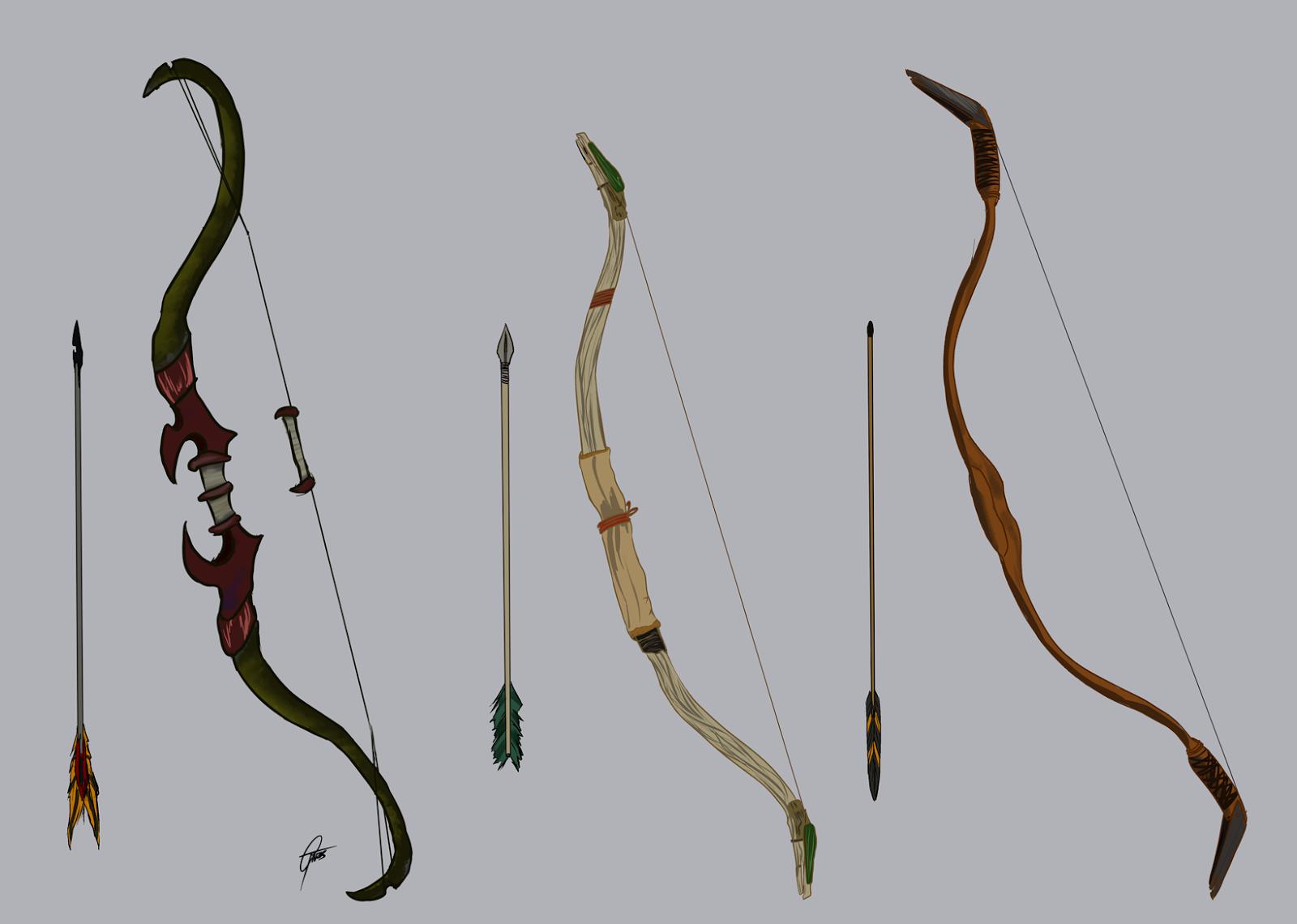 Petitecreme :: Illustrator and Designer: Bow and arrow designs