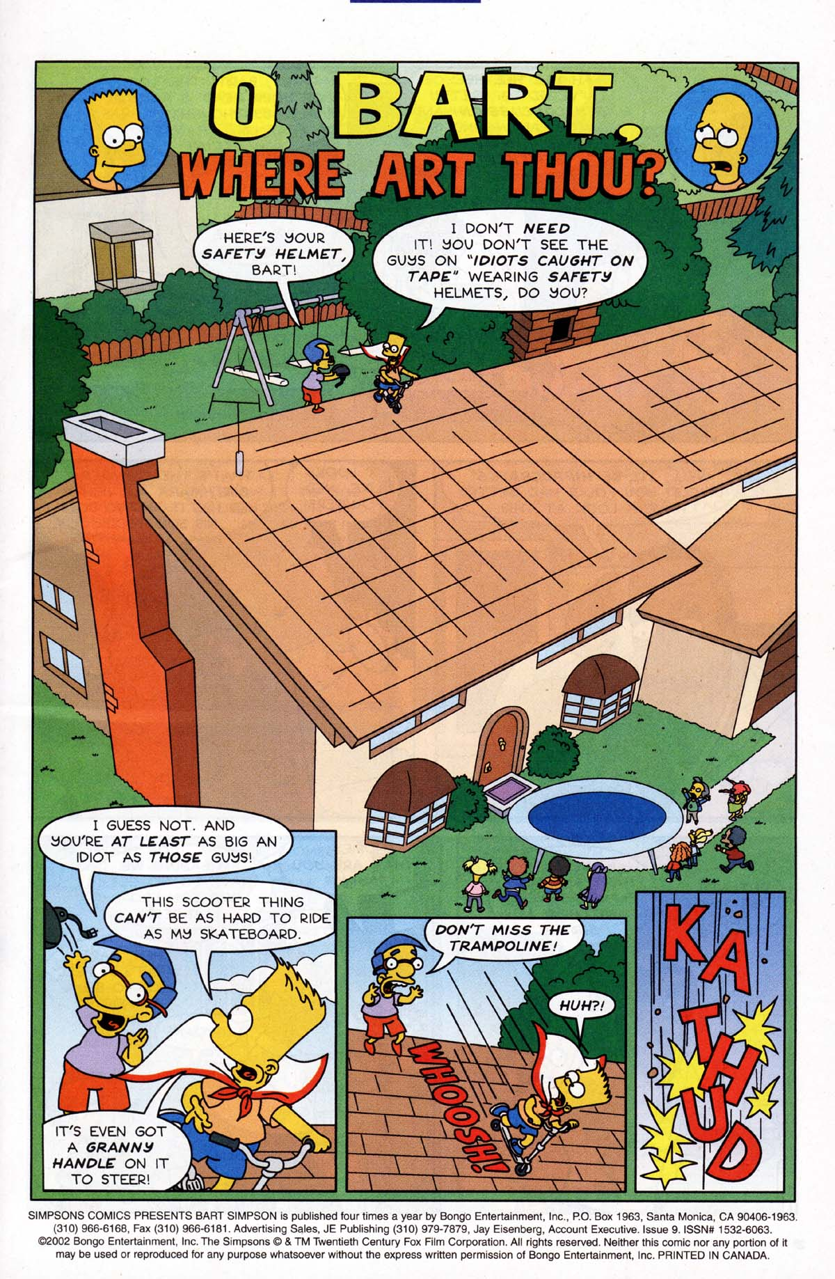 Read online Simpsons Comics Presents Bart Simpson comic -  Issue #9 - 2
