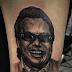 Rapero se tatuó el rostro de Diomedes Díaz en el brazo